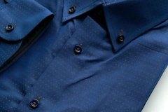 Blue-BrownDotsShirt-BKKBespoke1