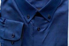 Blue-BrownDotsShirt-BKKBespoke2