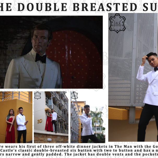 The Double Breasted Suit - BKK Bespoke