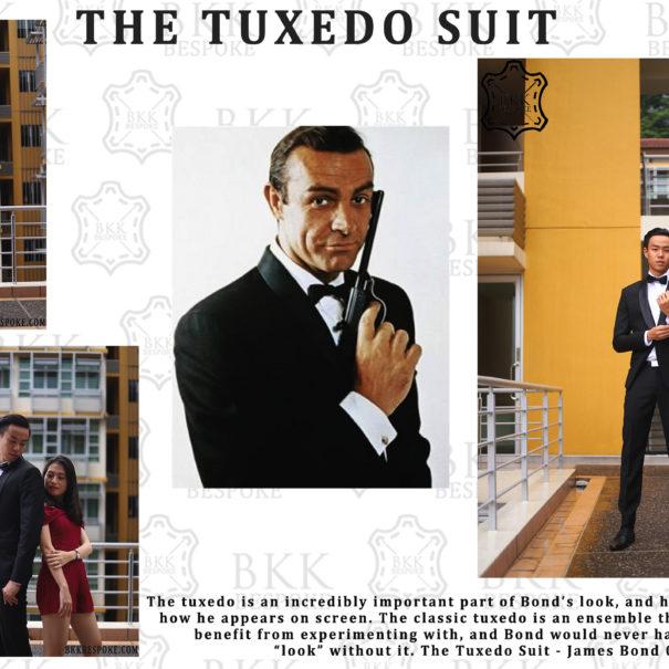 The Tuxedo Suit - BKK Bespoke